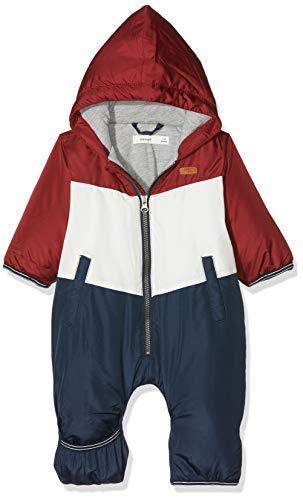 NAME IT Baby-Jungen NBMMOCK Suit Schneeanzug, Mehrfarbig (Dress Blues Dress Blues), 62/68 (Herstellergröße: 62-68)