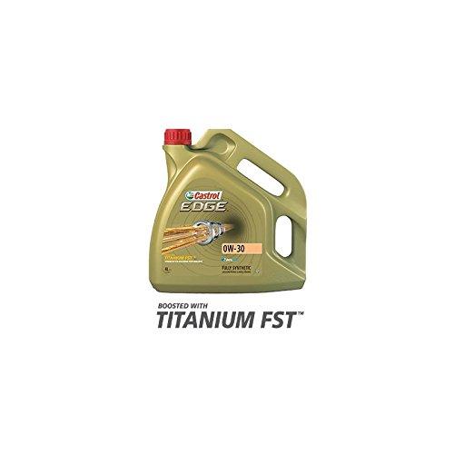 HUILE MOTEUR CASTROL EDGE TITANIUM FST 0W30 pas cher