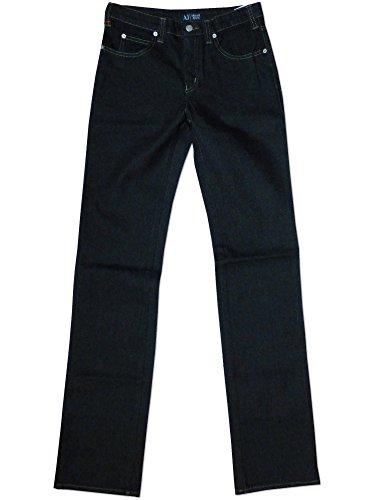 Armani Jeans für Damen, hoch sitzend, Regular Fit Schwarz