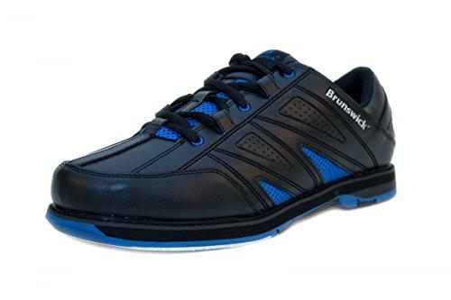 brunswick-warrior-bowlingschuhe-herren-in-schwarz-blau-grosse43farbeschwarz-blau
