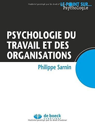 Psychologie du travail et des