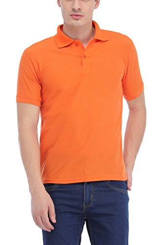 Trendy-Trotters-Orange-Polo-Cotton-T-Shirt