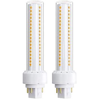 Bonlux 4 Pin LED PLC 13W GX24 Bombilla con 1350LM, Reemplazo Perfecto de 26W CFL