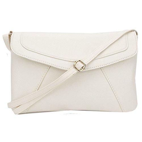 Felice Women Leather Envelope Satchel Small Crossbody Shoulder Bag Purse