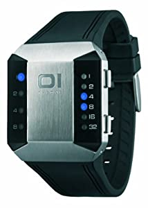Binary THE ONE SC115B3 - Reloj digital unisex de cuarzo con correa de goma negra - sumergible a 30 metros de The ONE Binary