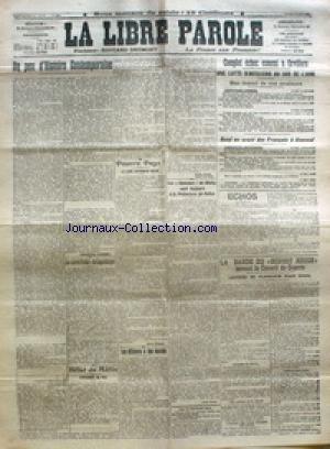 LIBRE PAROLE (LA) du 11/05/1918
