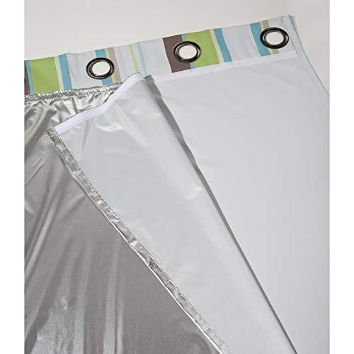 Moondream- warmeschutz futterstoffe - 135x260- Aluminium