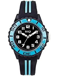 Mango A68359-3SS5A - Reloj para mujeres, correa de silicona color negro