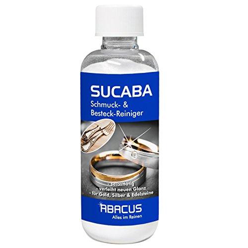 SUCABA 300 g (4548) - ergibt 40 Liter gebrauchsfertiges Silbertauchbad Silberbad Reinigungsbad Silberreiniger Goldreiniger Edelsteinreiniger Edelmetallreiniger Unedel Metallreiniger