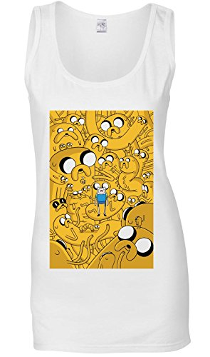 Adventure Time Jake Canotta delle donne T-Shirt XX-Large