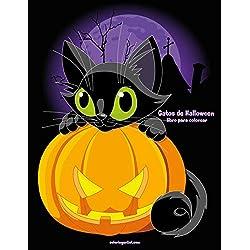 Gatos de Halloween libro para colorear 1: Volume 1
