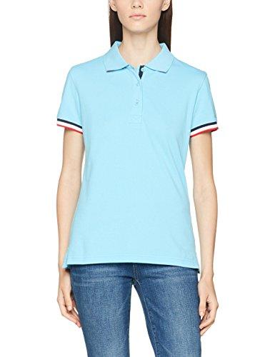 Clique Newton Ladies, Polo Donna Blue (Sky Blue)