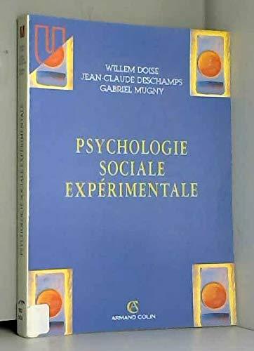 Psychologie sociale expérimentale