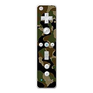 Disagu Design Skin für Nintendo Wii Controller – Motiv Camouflage Grün