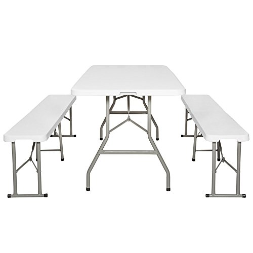 Zoom IMG-3 tectake tavolo e panche da