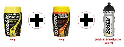 Isostar Hydrate & Perform 2 Botes de 400 g Sabor...