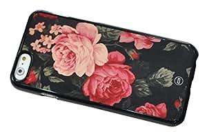 1888998333640 [Global Case] Rilassarsi Rilassarsi Relax Distendersi Non preoccuparti Sii felice Fiore Roses Floreale Fiore Tribal Azteco Retro Classico Stai Calmo (NERO COVER) Skin Case Custodia Morbida Rigida Protettiva Leggera per Apple iPhone 5 / 5S