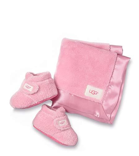 UGG® Bixbee Bootie and Lovey Blanket Kinder Stiefel Pink