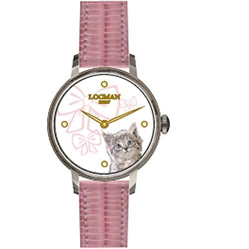 Reloj Solo Tiempo niño Locman 1960 clásico cód. F253A08S-00WHGA1PP