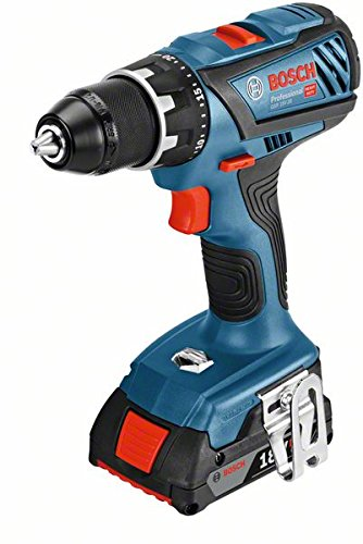 Bosch Professional perceuse-visseuse sans-fil GSR 18V-28 (2 batteries 2,0 Ah,18 V, ∅ de vissage...