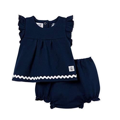 Petit Bateau Baby-M/ädchen Babette Bekleidungsset