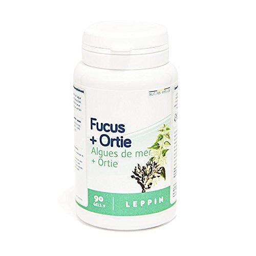 LEPPIN - Fucus + Ortie - Apport en IODE NATUREL - Hypothyroïdie - Haute biodisponibilité -...