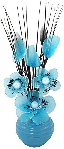 Flourish 705855 813 Blue Vase wi...