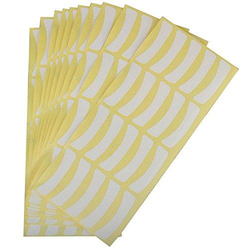 Vococal® 100 Paires Colle Sous Les Yeux Pad Autocollant Tape Patch Faux Cils Yeux Cils Extension Tool