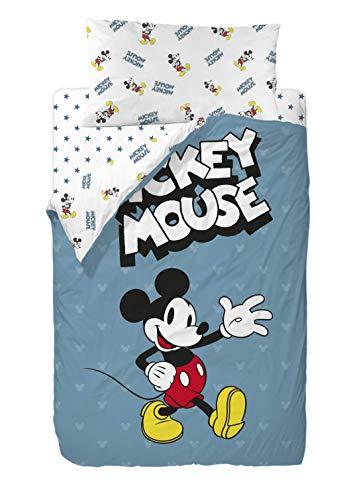Disney Mickey 90's Blue Saco Nórdico 2 Piezas Cama