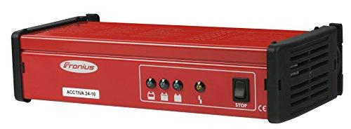 Batterieladegerät FRONIUS Acctiva 24-10 komplett mit Netz- und Ladekabel
