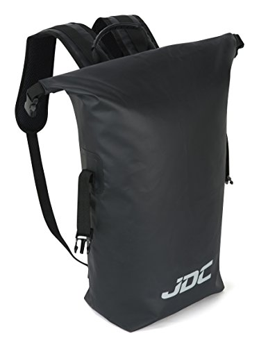 Imagen de jdc  para moto 100% impermeable bolsa resistente al agua 30l negra alternativa