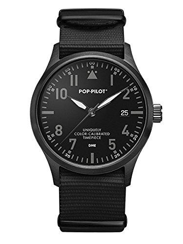 pop-pilotr-noire-montre-daviateur-dme-i-moscou-i-montre-homme-i-noir-i-10-atm-etanche-i-42-mm
