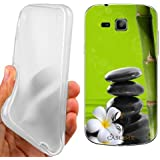 CUSTODIA COVER CASE PIETRE ZEN PER SAMSUNG GALAXY TREND PLUS S7580