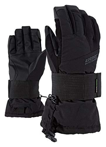 Ziener Kinder Merfy Junior Glove Sb Snowboard-handschuhe, black/black, L