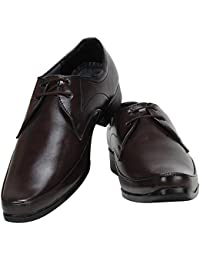 WENZEL Stylish Color Formal Shoes For Men/Leather Trendy Shoes/Formal Derby Lace-up Shoes For Men_WZ_501