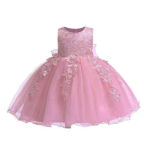 LZH Baby Mädchen Geburtstag Kleid Hochzeit Prinzessin Tutu Blumen Kleider