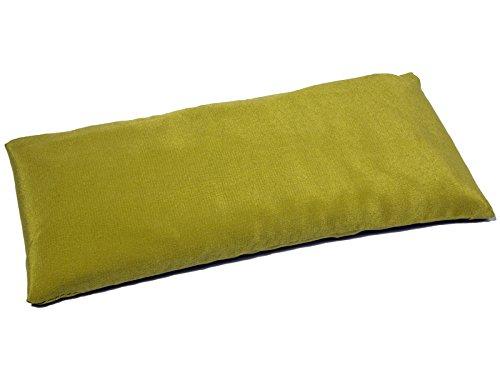 Coussinet pour les yeux - Soie naturel & Lin bio - Citron vert