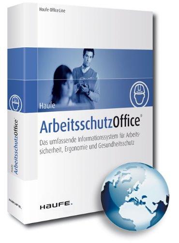 Haufe Arbeitsschutz Office, Neuauflage, CD-ROM Das umfassende Informationssystem für Arbeitssicherheit, Ergonomie und Gesundheitsschutz. Für Windows XP/2000 SP4/2003/Vista/2008/7