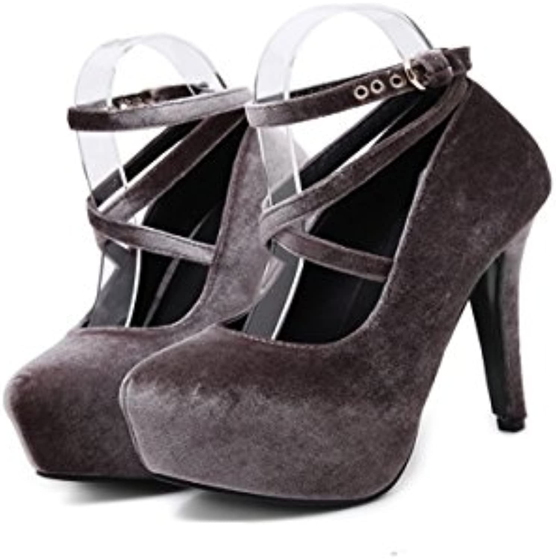 HBDLH Chaussures pour Femmes/Tableau Chaussures Étanches Chaussures Sexy Sexy Sexy Et 14Cm Chaussures.B07FM787LHParent   La Fabrication Habile    Exquis  83a17b