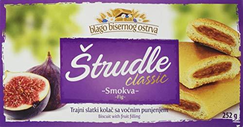 Preisvergleich Produktbild Zitoprerada Strudel mit Feige Teegebäck,  4er Pack (4 x 252 g)