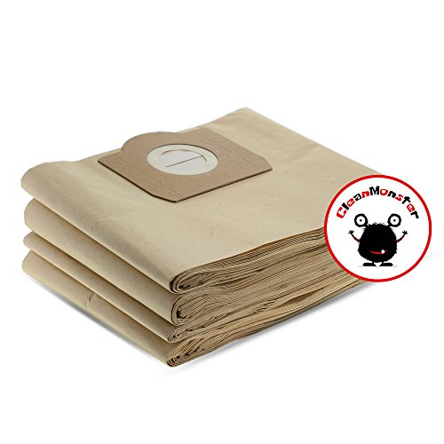 20x CleanMonster Staubsaugerbeutel kompatibel zu Kärcher 6.959-130.0 / 69591300