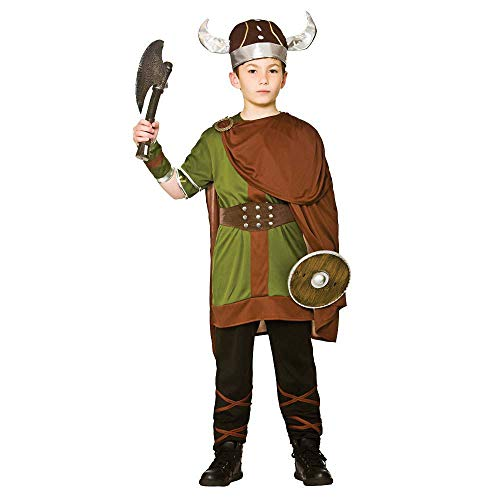 Unbekannt Viking Warrior Boy's Costume History War Fancy - Warrior King Kostüm Kind