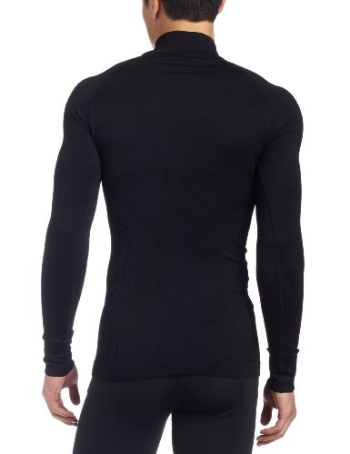 Craft Herren Warm Zip Mockneck schwarz