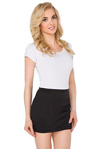 futuro-fashionr-womens-pencil-mini-skirt-stretchy-summer-elasticated-bodycon-plus-sizes-8-22-pa11