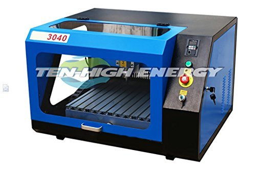 TEN-HIGH High-end Mini 3040 CNC router engraver with 4th axis A axis and Tailstock,Engraving Drilling/Milling Machine, Ready to Use! – cncrouterpro.com