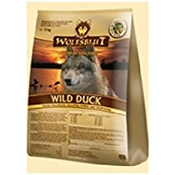 WOLFSBLUT Trockenfutter WILD DUCK Ente + Kartoffel Adult für Hunde 15,0 kg