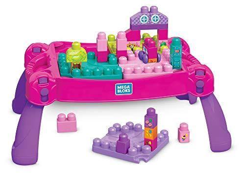 Mega Bloks FFG22 Bausteine Spieltisch, Mehrfarbig (Mega Blok Bau)