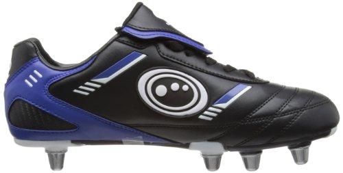 Optimum Tribal - Chaussures de Rugby - Homme Noir (Black/Blue)