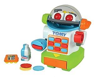 TOMY Robot Didáctico Toomies Mr. ShopBot 72612 con Sonidos, Color Multiple (E72612C)