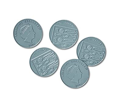 Learning Resources Ten Pence Coins, Set of 100 by Learning Resources